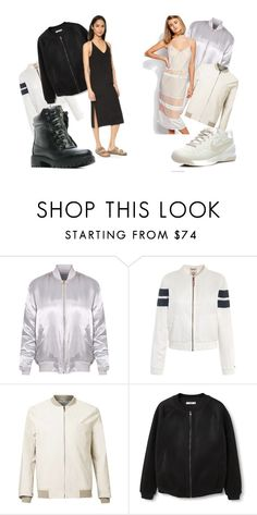 """""""233"""" by alena-mendesh on Polyvore featuring мода, Tommy Hilfiger, MANGO, Lost Ink и NIKE"""