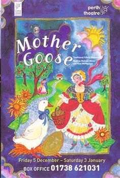 Poster of Mother Goose in Perth Theatre 's Pantomime Friday 5th December 2003 - Saturday 3rd January 2004