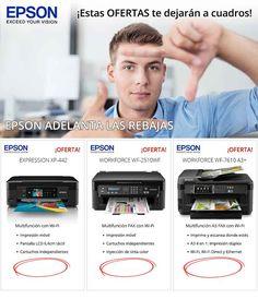 Con Epson, estas ofertas te dejarán a cuadros
