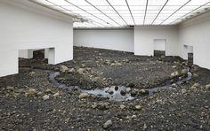 Olafur Eliasson Creates an Indoor Riverbed at Danish Museum,© Louisiana Museum of Modern Art