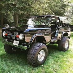 Nice old Bronco, perfect.