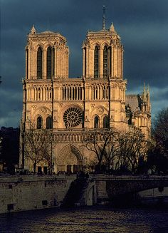 Notre Dame, Paris, France - I went to Paris once, but I can't wait to go back someday!!
