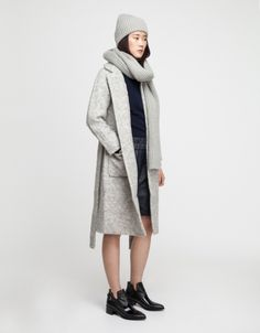 wanna find this... at about 300 smackaroos less... Teddy Wrap Coat - Ganni - $412
