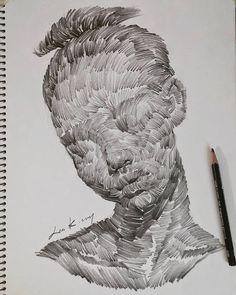 - A Level Art Sketchbook - Art Sketches, Art Drawings, Drawing Art, Drawing Tips, Drawing Ideas, Surrealism Drawing, Value Drawing, Weird Drawings, Drawing Pictures