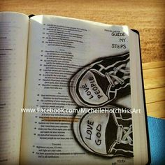Guide my Steps. Bible art journaling. #bibleart #illustratedfaith #bibleartjournaling #biblejournaling #journalingbible #journalingbibleart #bibleartchallenge #bible #psalms #biblejournalingcommunity #scriptureart #faithart #fabercastellglobal #Pittpens