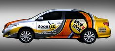 Car signage/wrap advertising for newly established advertising company by dopaMADs