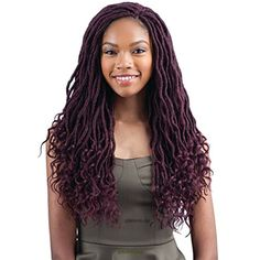 """GODDESS LOC 18"""" (T27) - FreeTress Synthetic Crochet Braid >>> Visit the image link more details. (This is an affiliate link) #PersonalCare"""