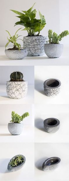 DIY Concrete Ideas – Concrete is by far the most pre-owned composed material, from routine construction projects to tiny ornamental products. Our subject for today is Do It Yourself Concrete . Read DIY Concrete Ideas For A Chic Minimal Design Concrete Pots, Concrete Crafts, Concrete Garden, Concrete Projects, Concrete Design, Diy Cement Planters, Cement Art, Papercrete, Flower Pots