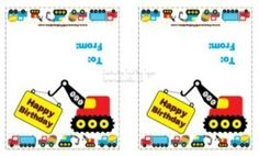 Construction Treat Bag Topper Free Printable - Farmers Wife Rambles