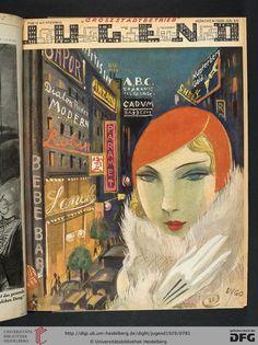 DVGO, Jugend magazine cover art, 1929