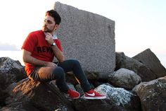 """Zara T Shirt, Nike Shoes, Free Joy Pants This is """"revive"""" ! old post of my outfit. Follow me!"""