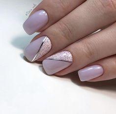 Glitter Gel Nails, Silver Nails, Toe Nails, Stiletto Nails, Acrylic Nails, Violet Nails, Purple Nails, Short Nail Designs, Gel Nail Designs