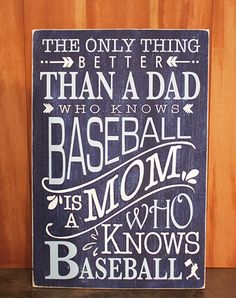 I WILL have this hanging in our home one day! For the love of the game ...