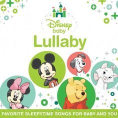 Disney Baby Lullaby Album. So gonna get this from iTunes tonight. Been playing baby music to him every night before we sleep.