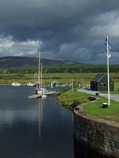 Caledonian Canal - Loch Lochy - Scotland