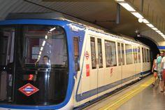 metro madrid, Madrid, Spain
