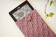 Kindle Cover by Mon Petit Violon- Free pattern~k8~