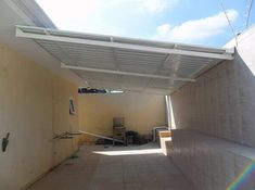 Pergola For Car Parking House Roof, My House, Outdoor Laundry Rooms, Diy Storage Shed Plans, Metal Awning, Royal Garden, Laundry Room Design, Flat Roof, New Homes