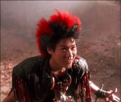 Rufio from HOOK. This is who I am Superbowl partying with.