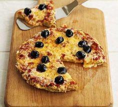 Pizza omelette