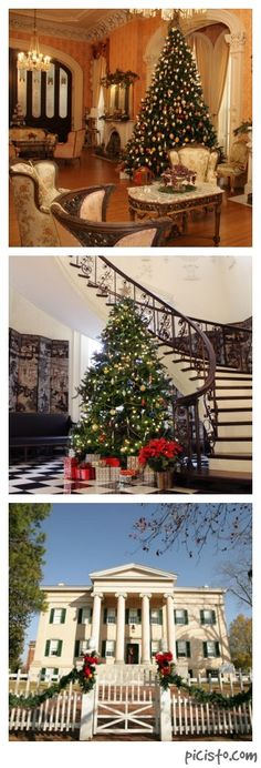 6 Historic Homes That Really Know How to Deck the Halls