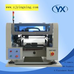 Identify Mark SMT460 PCB/SMT/LED Manual Small PNP Machine With  Max 480*380mm Pick and Place Machine