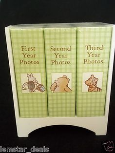 Classic Winnie The Pooh photo albums...for when I have children
