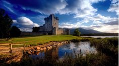 Ross Castle (Irish: Caisleán an Rois) is a 15th-century tower house and keep on the edge of Lough Leane, in Killarney National Park, County Kerry, Ireland. It is the ancestral home of the O'Donoghue clan. — at Ross Castle.