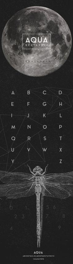 AQUA GROTESQUE Free Typeface, #Free, #Graphic #Design, #Resource, #Sans_Serif, #TTF, #Typeface, #Typography