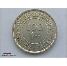 1942 Silver Palestine 100 mils coin ( very rare ) on eBid United Kingdom