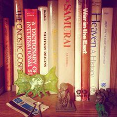 Upon a Chaosium Bookshelf. #tabletoproleplaying Cthulhu