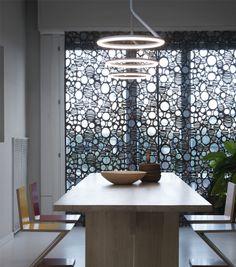Lampe suspension / design original / en aluminium / en polycarbonate GIÒ by Angeletti Ruzza NEMO Linear Lighting, Modern Lighting, Lighting Design, Lighting Ideas, Led, Suspension Design, Italian Lighting, Living Room Modern, Diffuser