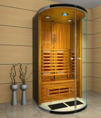 Foshan cedar new luxury sauna room shower Sauna Kits, Infrarot Sauna, Sauna Room, Portable Infrared Sauna, Super Spa, Solarium, Outdoor Spa, Steam Room, Wellness