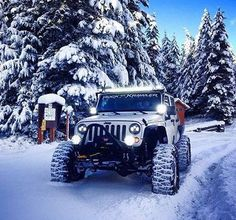 White Jeep in the Snow Jeep Jk, Jeep Truck, Aev Jeep, Jeep Wrangler Soft Top, Jeep Wrangler Rubicon, Jeep Wranglers, Jeep Wagoneer, Hummer, Jeep Willis
