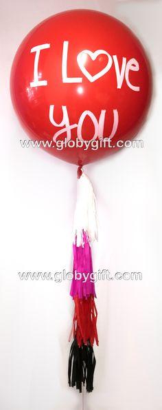 Globo gigante para San Valentn Valentines day big balloon
