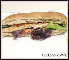 Cookaholic Wife: Lighter Buffalo Chicken Sandwiches