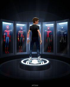 credits marvel_dc_p # spiderman Marvel Comics, Memes Marvel, Marvel Funny, Funny Comics, Amazing Spiderman, All Spiderman, Hulk Superhero, Parker Spiderman, Tom Holland