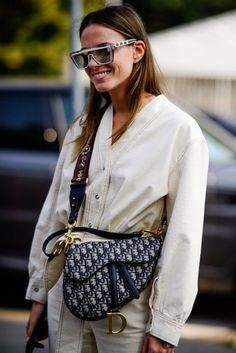 Outfit Inspiration From Paris Fashion Week  handbags  dior  bag Street Style  2018 9a29acaa7b2fe