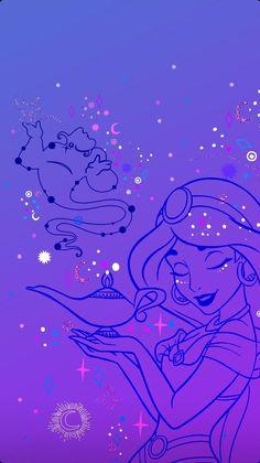 Aladdin Wallpaper, Wallpaper Iphone Disney, Princesa Disney Jasmine, Aladdin Art, Disney Pixar, Disney Characters, Disney Princesses, Disney Princess Pictures, Disney Images