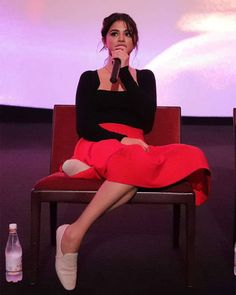 Selena Gomez at the Good Time Q&A tonight [August 19] @selenagomez en el Good Time Q&A está noche [Agosto 19] #SelenaGomez #Selena #Selenator #Selenators #Fans