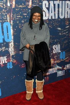 Pin for Later: Saturday Night Life rief und die Stars kamen in Scharen Whoopi Goldberg