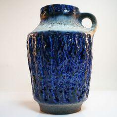 Vintage fat lava Vase Carstens Tonnieshof Germany Pottery