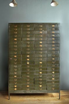 Hey, I found this really awesome Etsy listing at https://www.etsy.com/listing/191120653/vintage-metal-80-drawer-cabinet