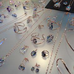 Swarovski Bracelets, pendants and rings - Sieradenbeurs Bijorhca Parijs 2015 - Photo Diary