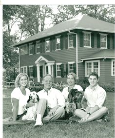 Pinner, family and house 1998? Indianapolis Gould Family house built in 1916