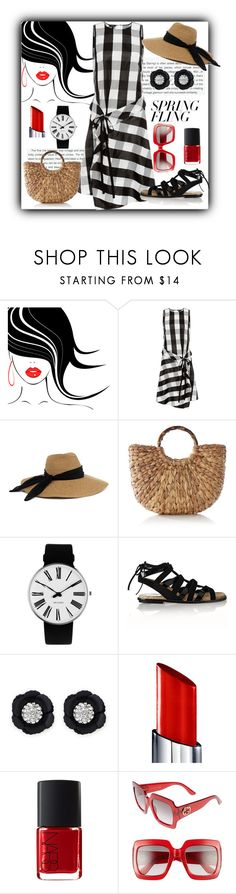 """""""Spring In The City"""" by farradaymg ❤ liked on Polyvore featuring Stop Staring!, rag & bone, Eugenia Kim, Rosendahl, Paul Andrew, Henri Bendel, By Terry, NARS Cosmetics, Gucci and springdresses"""