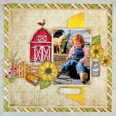 Heartfelt Creations - So Farm Cute Small Journal, Photo Corners, Distress Oxide Ink, Card Making Tutorials, Yellow Pattern, Heartfelt Creations, Creative Photos, Zinnias, Flower Shape