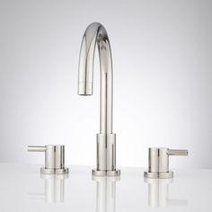 Rotunda Widespread Bathroom Faucet - Lever Handles - Bathroom Sink Faucets - $169