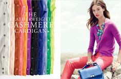 the same j crew image i pinned not long ago-- in a different color in the catalog!
