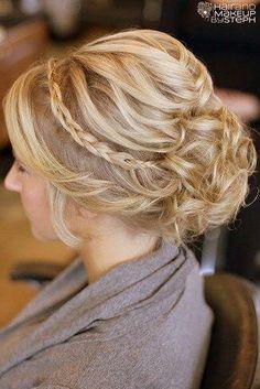 Hairstyle idea. Make your hair as beautiful as your wholesale diamonds! [ 1diamondsource.com ] #hair #diamond #quality